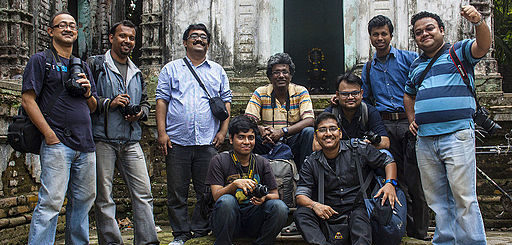 Wikipedia Takes Kolkata 4 - Participants Group Photo