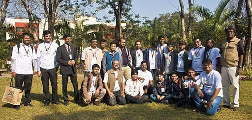 BNWIKI10-Bengali Wikipedians Group Photo-Wikipedia 10th Anniversary Celebration, Kolkata, India
