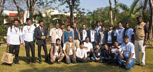 BNWIKI10-Bengali Wikipedians Group Photo-Wikipedia 10th Anniversary Celebration, Kolkata, India
