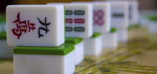 Dice of Mahjong - Old Chinabazar, Kolkata (Calcutta), India