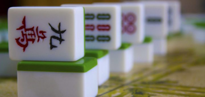 Dice of Mahjong - Old Chinabazar, Kolkata (Calcutta), India