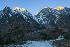 Kangchenjunga - Early Morning View from Sikkim, India