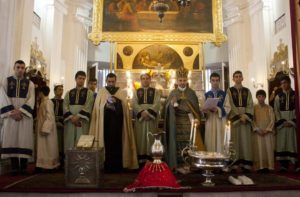 Armenian Christmas on 6th January at The Church of Holy Nazareth in Kolkata (Calcutta), India