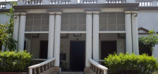 Hyderi Manzil or Gandhi Bhawan in Kolkata (Calcutta), India
