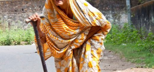 Old age woman in Kolkata(Calcutta), India
