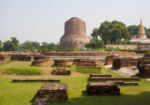Dhamekh Stupa in Sarnath - Uttar Pradesh, India