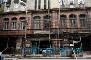 Warren Hastings's town residence in Calcutta (Kolkata), India