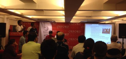 Wikipedia workshop #Wikilearnopedia 2015 at Oxford Book Store in Kolkata (Calcutta), India