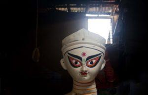 Goddess Durga - Kumotuli, Kolkata, India