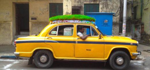 Bapi Green Taxi aka Sabuj Rath in Kolkata