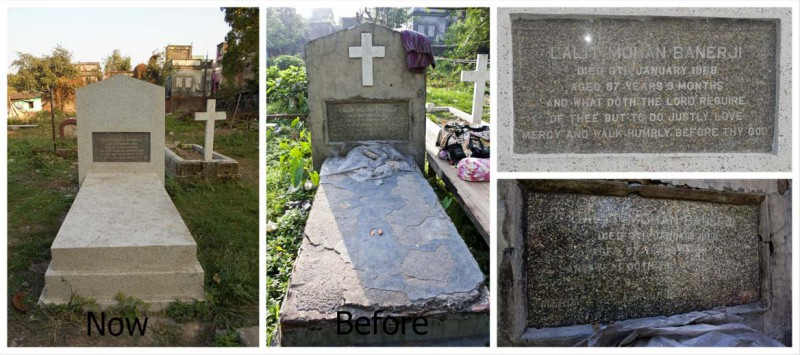 Grave of First Professor of Surgery – Dr.Lalit Mohan Banerji