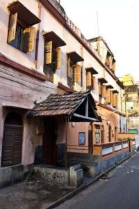 The house where Rabindranath Tagore met with Ramakrishna