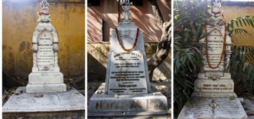 Graves of Sons of Keshub Chandra Sen in Kolkata,India
