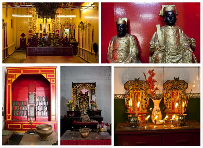 Chinese Temples in Kolkata Tirrettabazar and Chandi chawk area