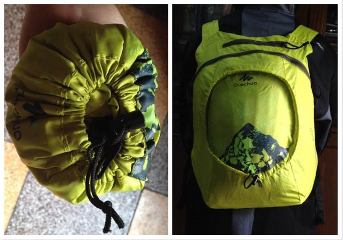 Quechua 15L knapsack