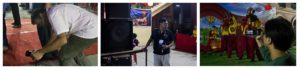 Photographers of the show - Lion Dance Display & Cultural Show 2016, Kolkata, India