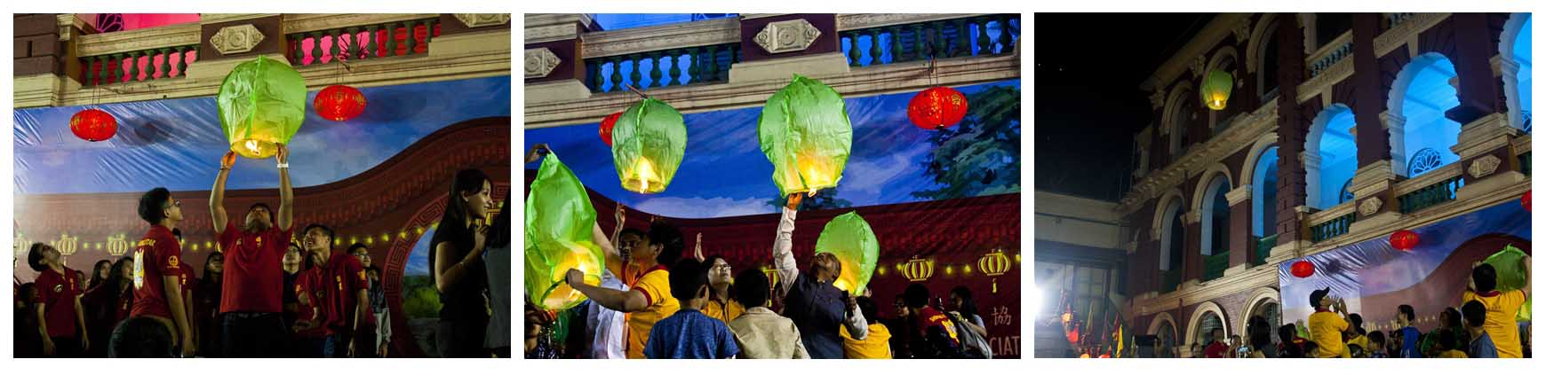 Chinese Lanterns - Lion Dance Display & Cultural Show 2016, Kolkata, India