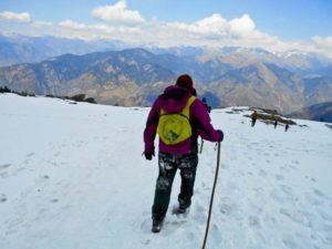KedarKantha Summit 2016 in Winter by BongBlogger