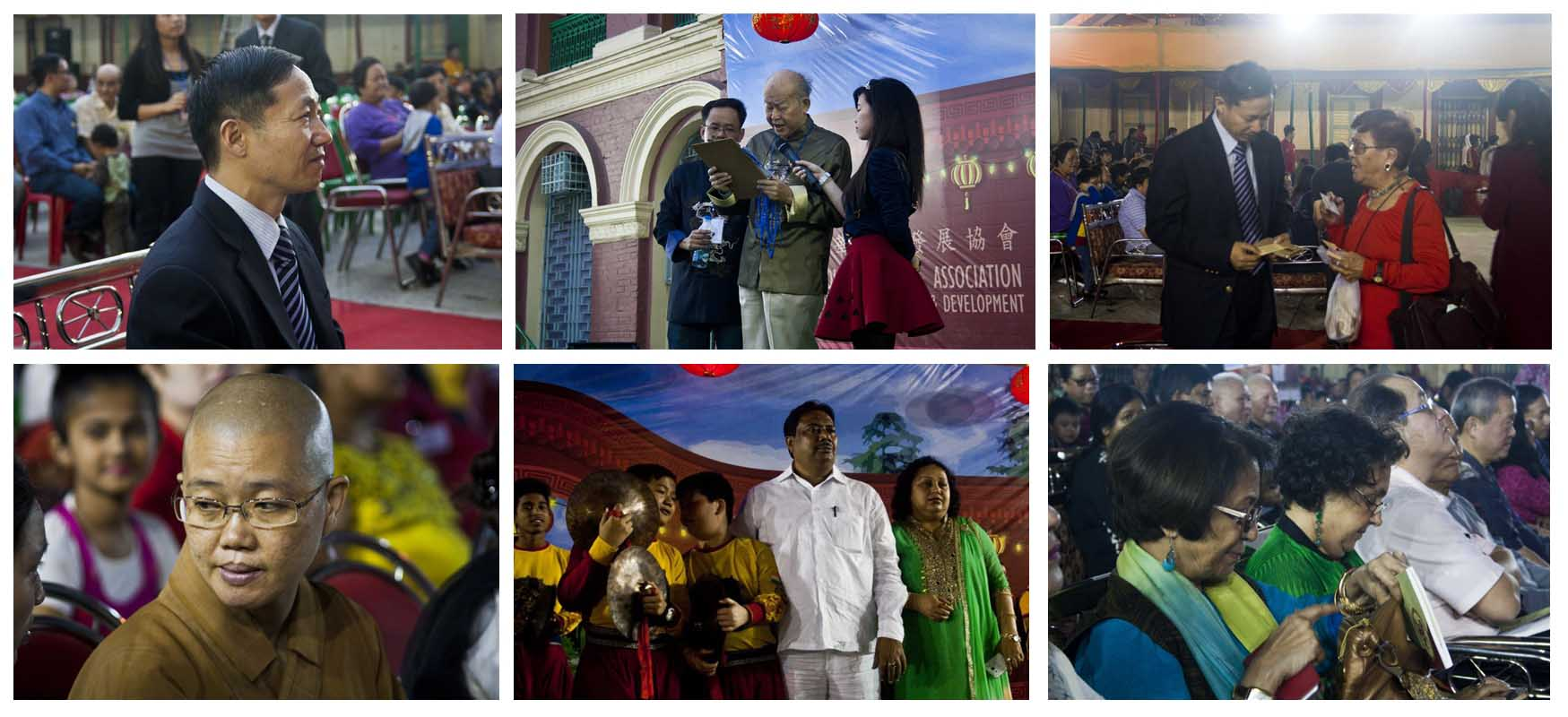 Dignitaries - Lion Dance Display & Cultural Show 2016, Kolkata, India