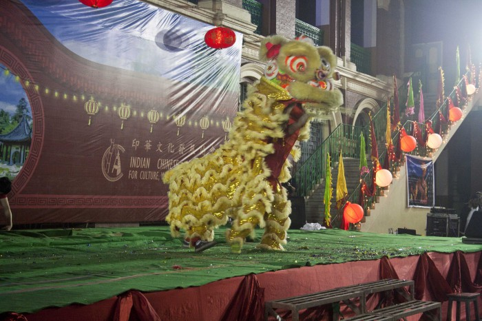 Lion Dance Display & Cultural Show 2016 in Kolkata,India