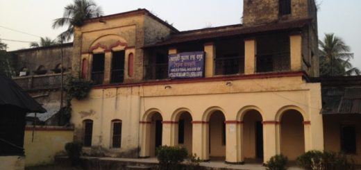 Ancestral House of Netaji Subhas Chandra Bose in Subhasgram, West Bengal, India
