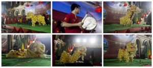 Lions Dance - Lion Dance Display & Cultural Show 2016, Kolkata, India