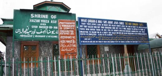 Roza Bal - Tomb of Jesus Christ in Srinagar, Jammu & Kashmir, India
