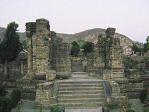 Awantiswami Temple in Awantipura, Jammu and Kashmir, India