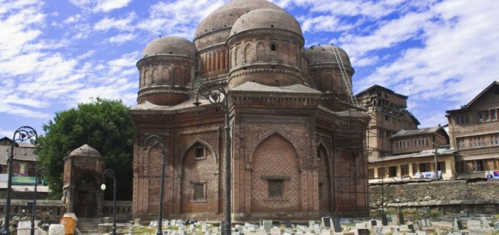 Tomb of the Mother of Zain-ul-Abidin in Mazar-I-Salateen in Srinagar, Jammu & Kashmir, India