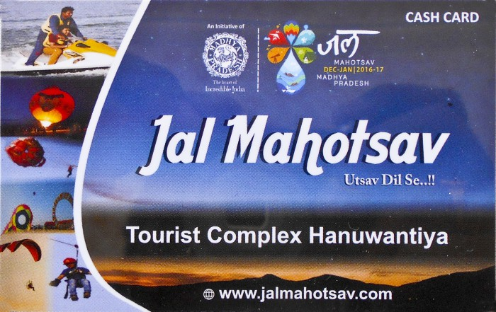 Jal Mahotsav - Cash Card for Cashless in Hanuwantiya, Khandwa, Madhyapradesh, India.