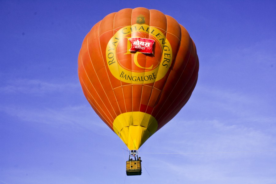 Jal Mahotsav - Hot Air Baloon in Hanuwantiya, Khandwa, Madhyapradesh, India.