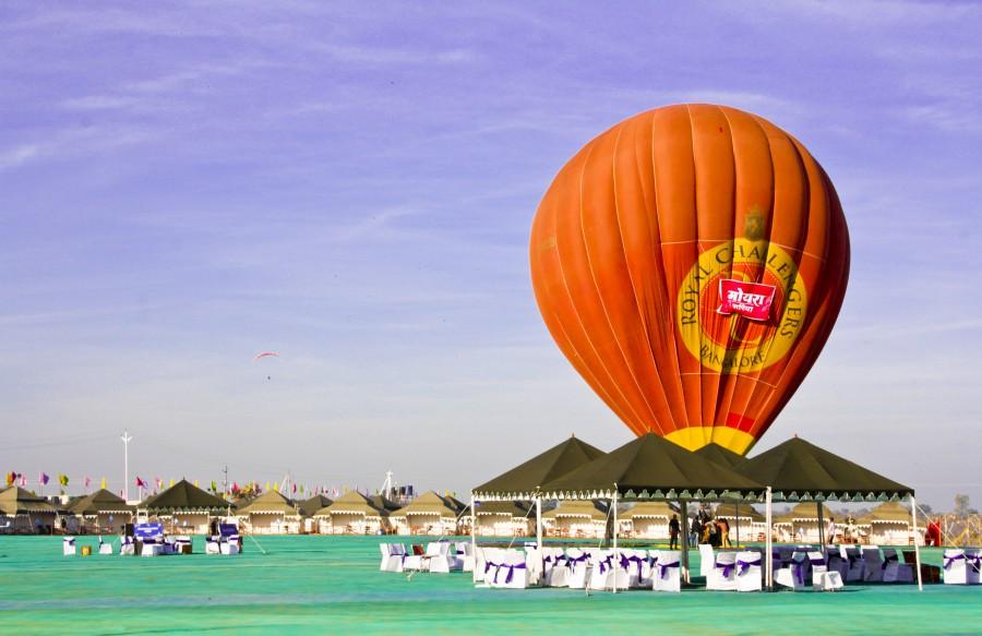 Jal Mahotsav - Luxurios Tents in Hanuwantiya, Khandwa, Madhyapradesh, India.