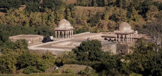Baz Bahadur's Palace in Mandu Fort, Madhya Pradesh, India